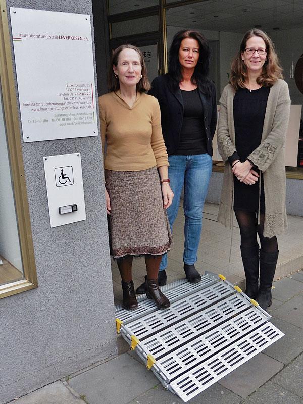 Barrierefreier Zugang Frauenberatungsstelle